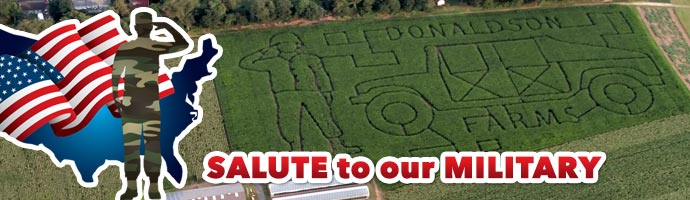 2017 Corn Maze - Salute to our Military