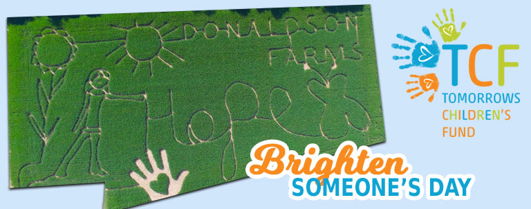 2018 Corn Maze Theme: Brighten Someone's Day