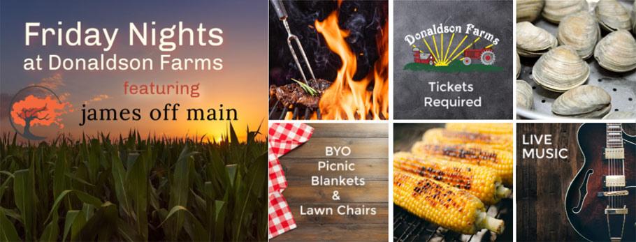 Friday Nights on the Farm - Food, music, & fun