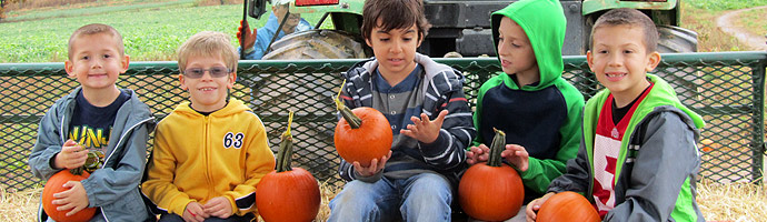 Fall Attractions at Donaldson Farms