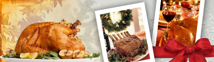Holiday Turkeys and Roasts