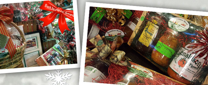 Christmas Gift Boxes and Baskets