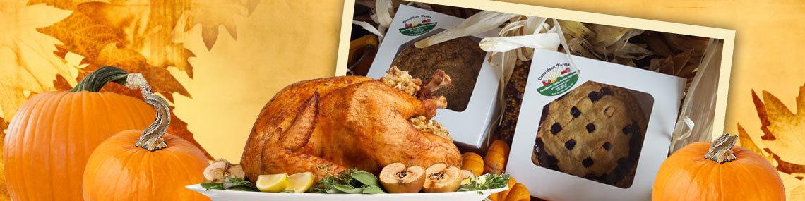 Holiday Pies & Turkey
