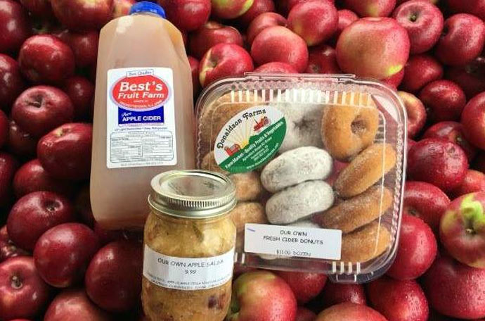 Cider, Donuts, and Apples at our Farm Market - Hackettstown, NJ